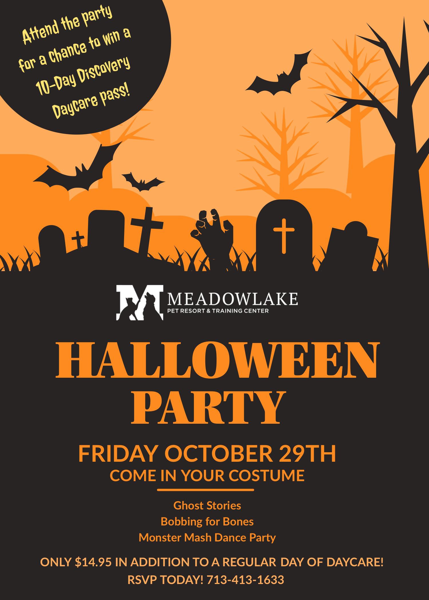 Halloween Party Flyer 2021