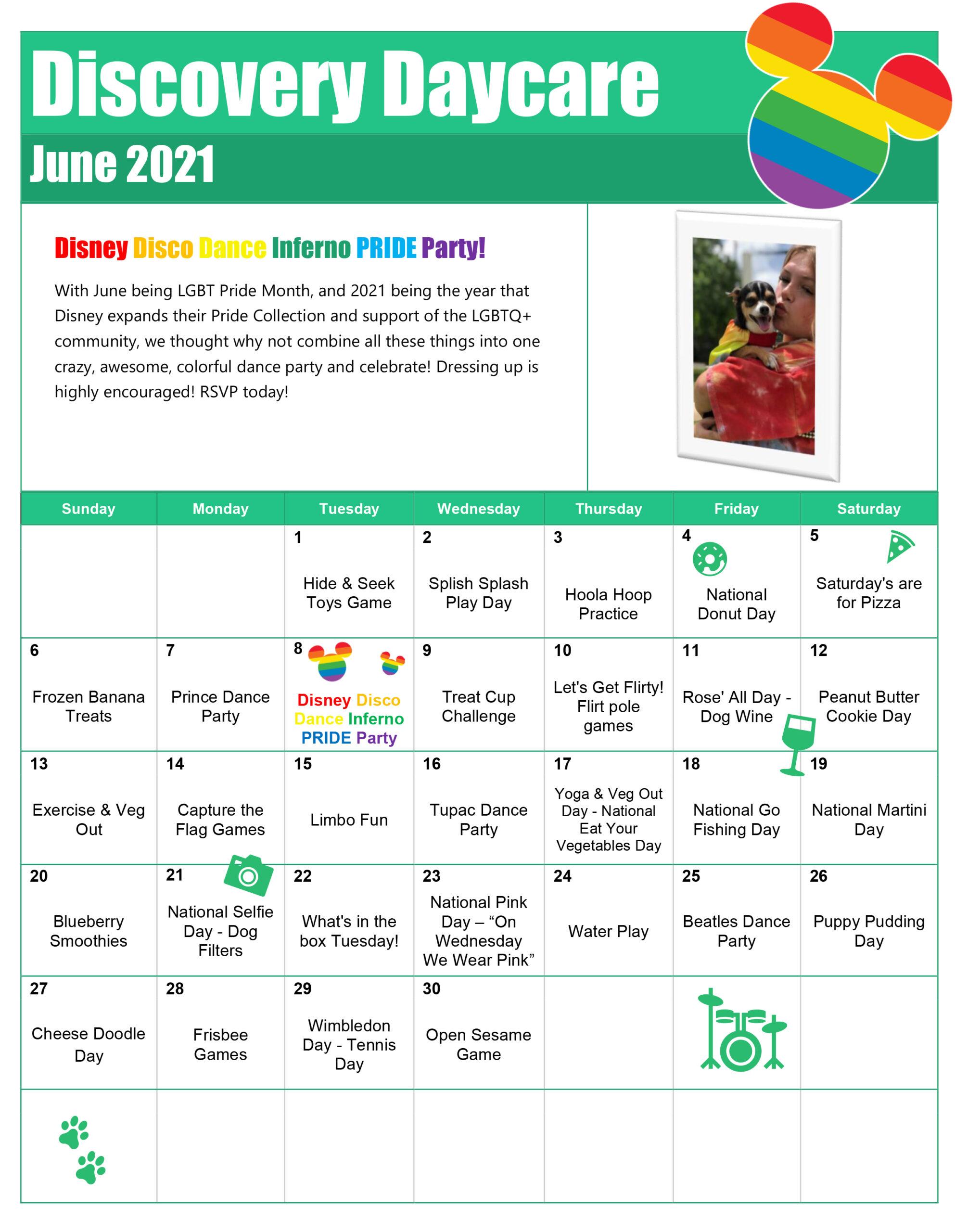 June Discovery Daycare Calendar 2021-1