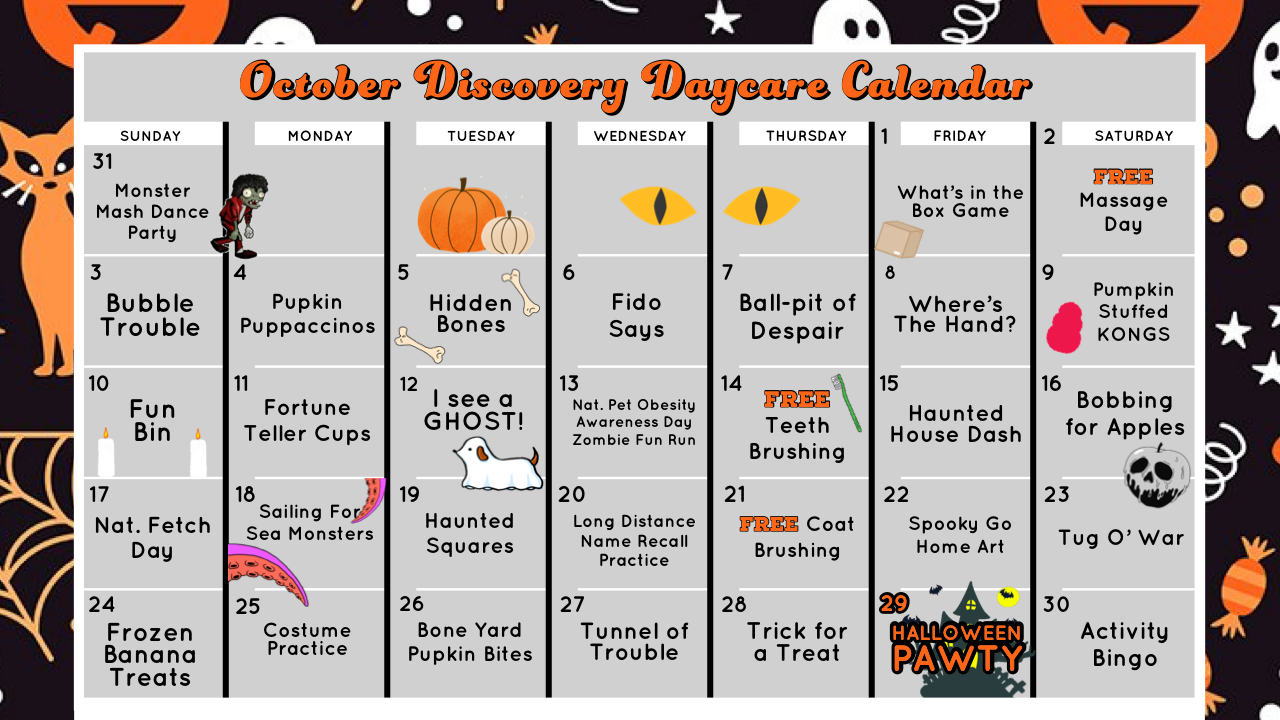 Oct Discovery Daycare 2021